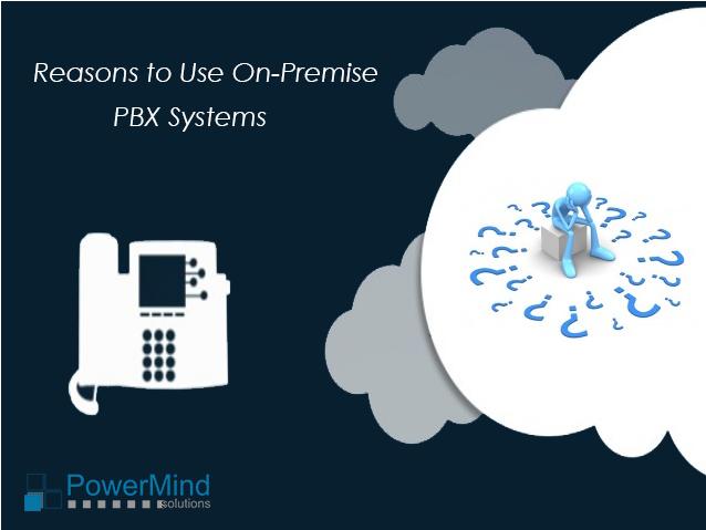 on premise IP-PBX